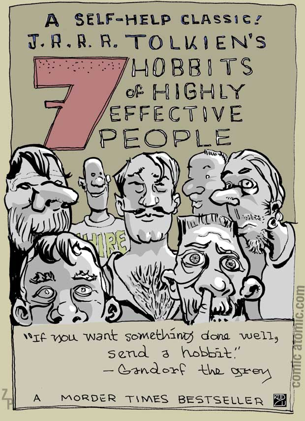 7 Hobbits of Highly Effective People
